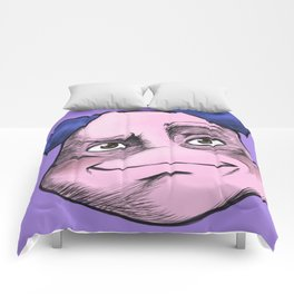 Mr. Mime Creepy Face Comforters