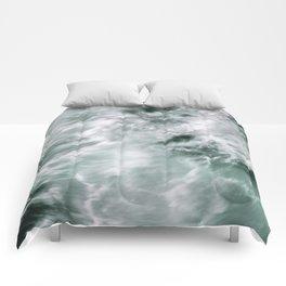 Silky Waves Comforters