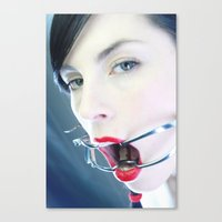 medical Canvas Prints featuring medical by nena suicide