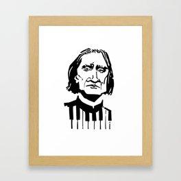 Liszt Framed Art Print