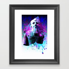 digital Egyptian  Framed Art Print