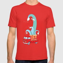 My Own Waves - Old V W van - Surf,Surfing - Pop Culture T-shirt