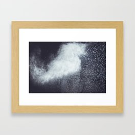 Clouds II Framed Art Print