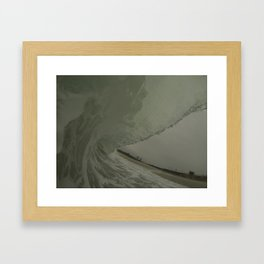 Throwing Framed Art Print