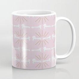 Broken Bones Pink Coffee Mug