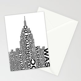 Washington Capitol  Stationery Cards