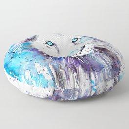 Blue Lion Floor Pillow