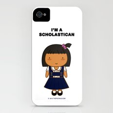 I'm A Scholastican iPhone (4, 4s) Slim Case