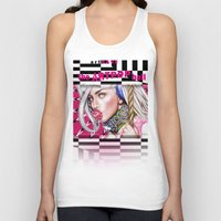artrave Tank Tops featuring artRAVE by Denda Reloaded