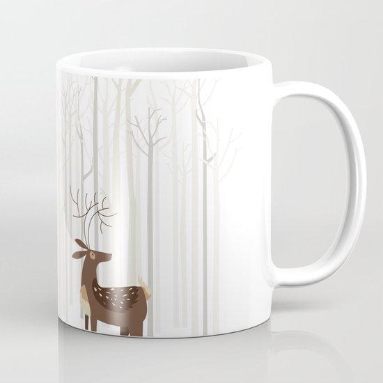 Reindeer of the Silver Wood Mug