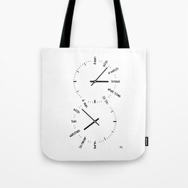 Two Watches Tote Bag
