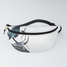 Crow Seat of the Soul Fanny Pack