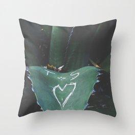 cactus love Throw Pillow
