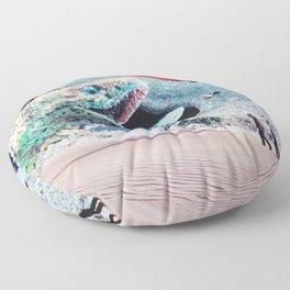 Sandworms of Saturn Floor Pillow