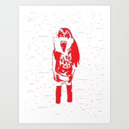 Kiss Loves You #1 Art Print
