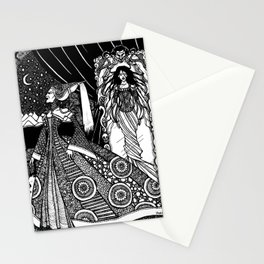Snow White in the Mirror Stationery Cards
