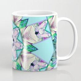 floral star mandala Coffee Mug