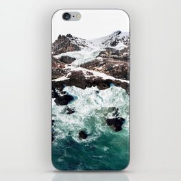 Sea and Mountains iPhone Skin