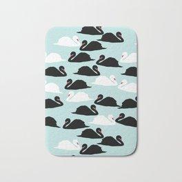 Petite Swan Dusk Bath Mat