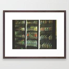 pop Framed Art Print