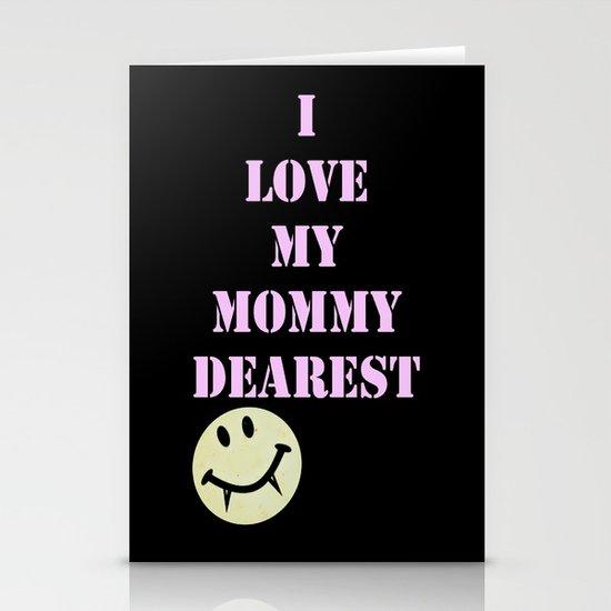 Mommy Dearest Stationery Cards