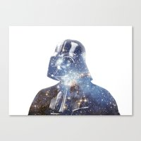 vader Canvas Prints featuring Vader by O   N   E