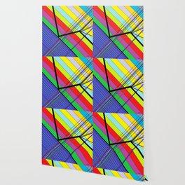 Diagonal Color Wallpaper