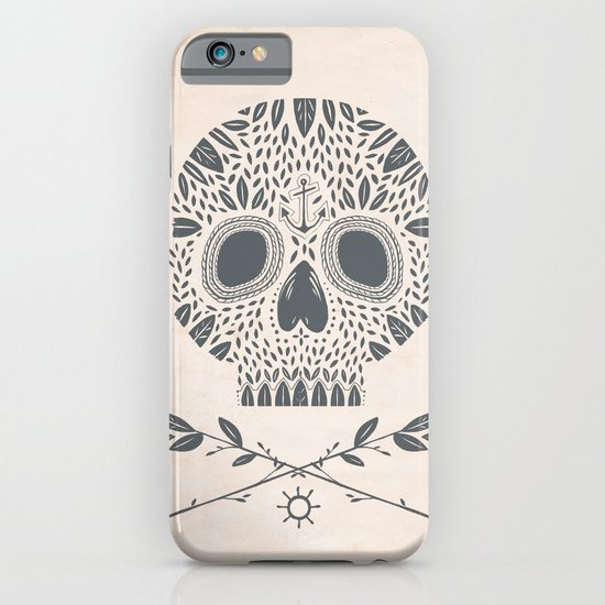 LEAF SKULL iPhone & iPod Case