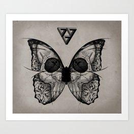 flydeath Art Print
