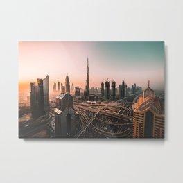 Dubai 08 Metal Print
