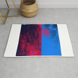 UP: over and under, earth and sky Rug