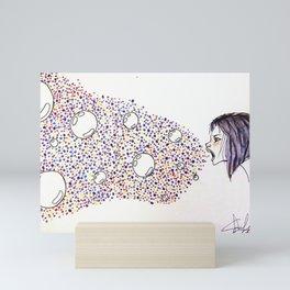 Nothing to Say Mini Art Print