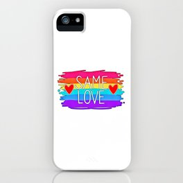 LGBT (70) iPhone Case