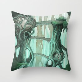 the nest of dragons Throw Pillow