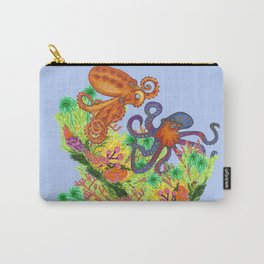 Octopodes & Aquatic Plants Carry-All Pouch