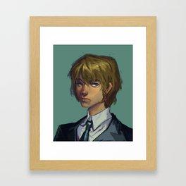 Kurarpikt Framed Art Print