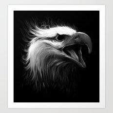 Eagle Eye Art Print