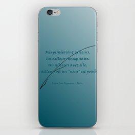 Ailleurs iPhone Skin
