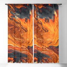 Lava Art Blackout Curtain