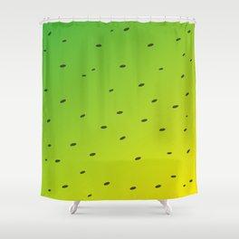 Tropical Kiwi Shower Curtain