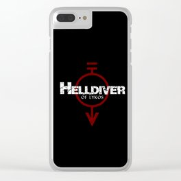 Helldiver of Lykos Clear iPhone Case