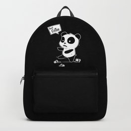 Coffee Panda Caffeine Addicts Java Lovers Backpack