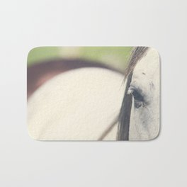 Grey Horse Bath Mat
