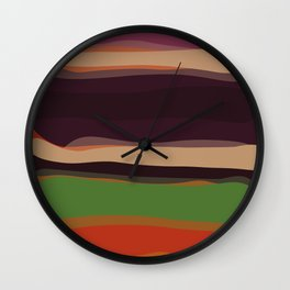 Mark Rothko inspired Wall Clock