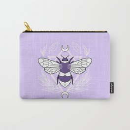 Bee Queen // Pastel Carry-All Pouch
