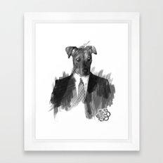 Reservoir Dog Framed Art Print
