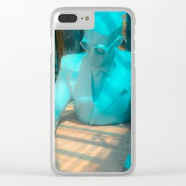 Le Corbusier by Xavier Veilhan Clear iPhone Case