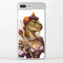 Tyrant Queen Clear iPhone Case