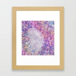 Mysterious Moon Reverie Framed Art Print