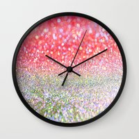 candy Wall Clocks featuring Candy. by haroulita